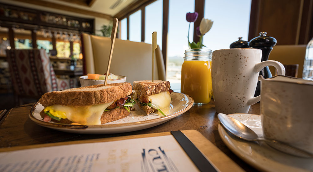 The Cutwater on Payette Lake Breakfast