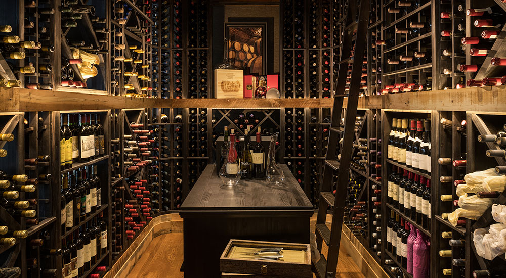 Wineroom at The Narrwos Steakhouse