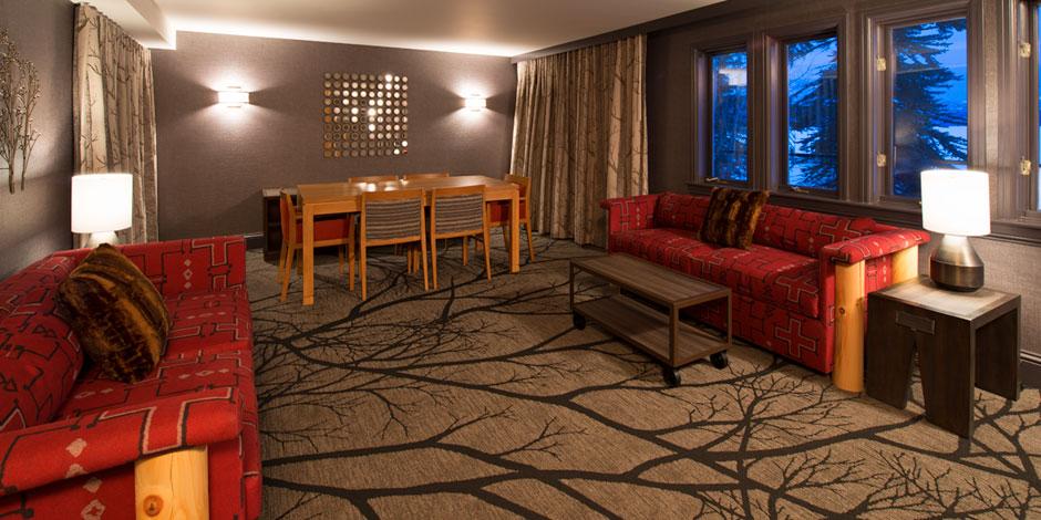 Fireside Suite Living