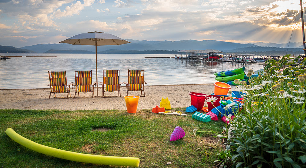 Payette Lake Beach