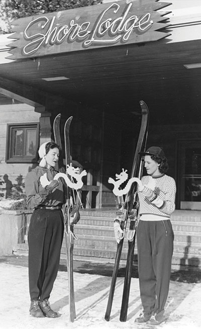 Old Time Skiing at Shore Lodge