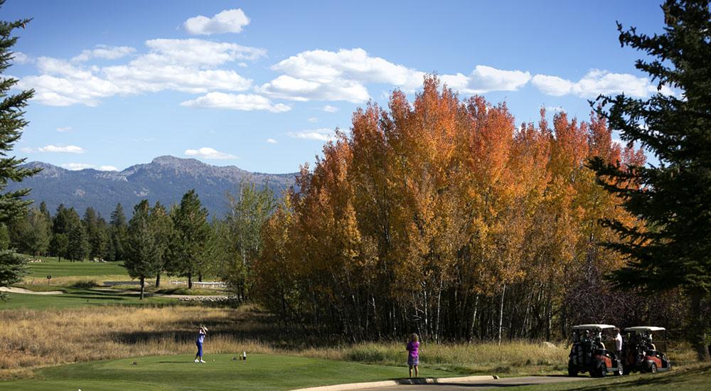 Fall Golf at Whitetail CLub