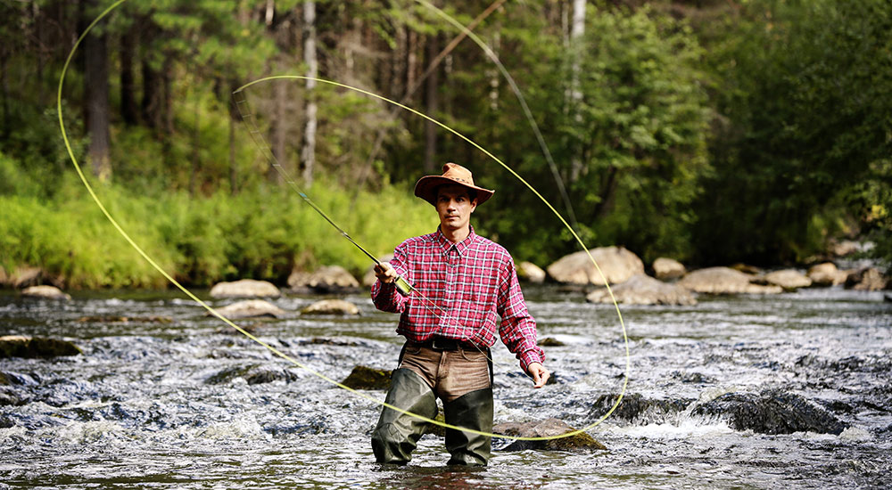 Spring Fly Fishing in McCall