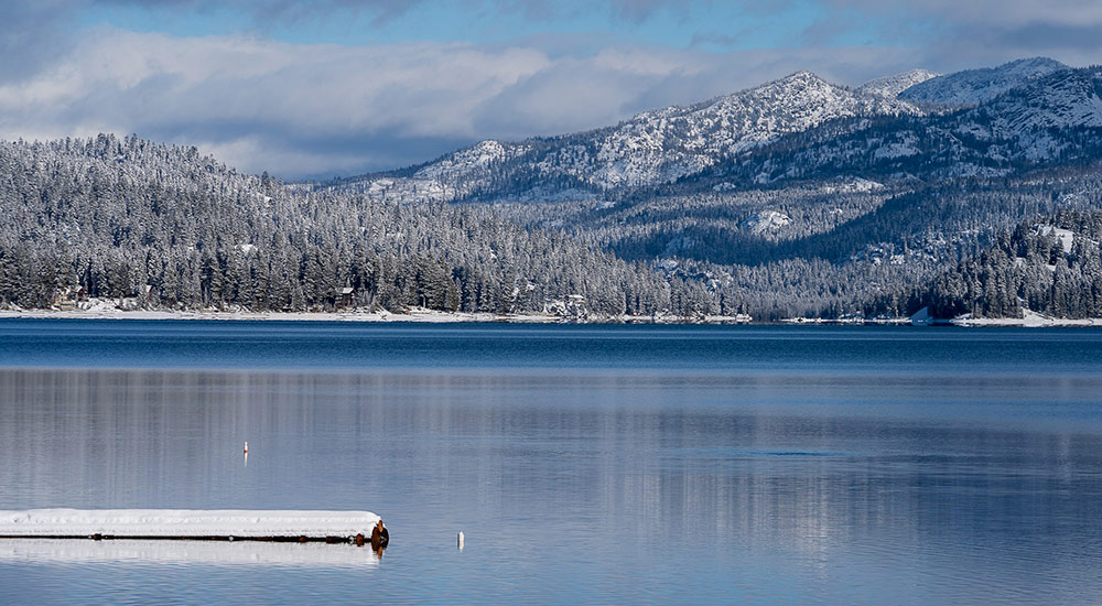 Payette Lake Winter