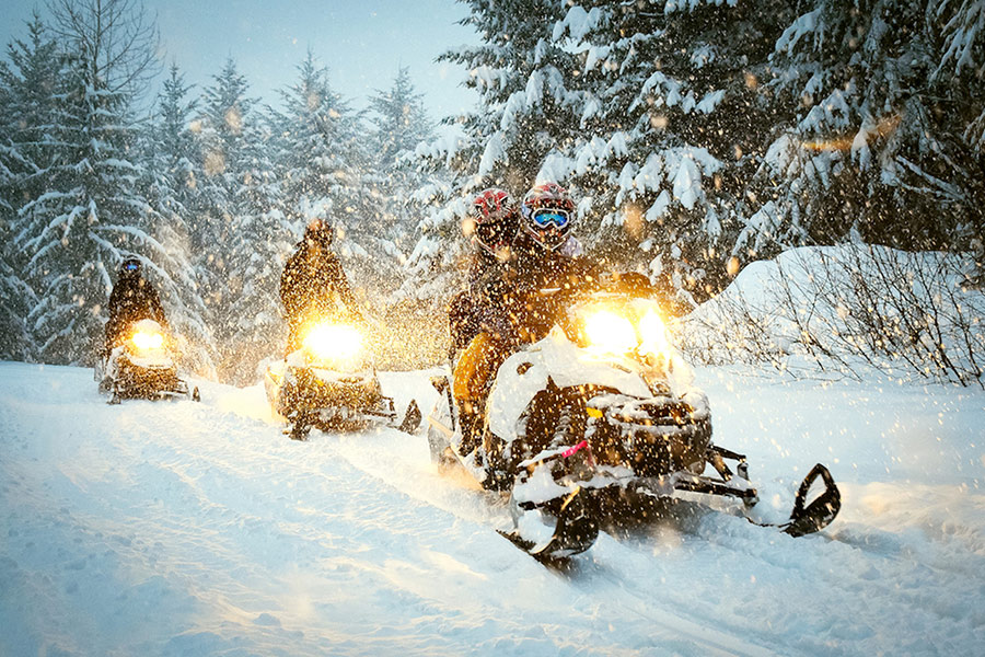 McCall Backcountry Snowmobiling